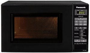 Panasonic 20L Solo Microwave Oven(NN-ST266BFDG,Black, 51 Auto Menus)