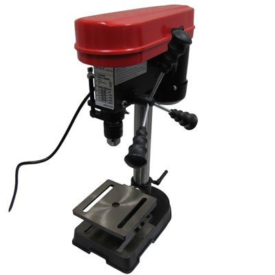Mini Drill Press 5 Speed Adjustable Work Bench Drill Press with Tilting Table