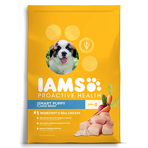 Iams Proactive Health Smart Puppy Large Breed Dry Dog Food Chicken, 30.6 Lb. Bag