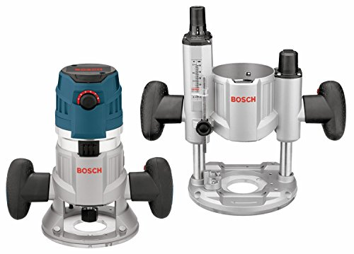 Bosch 2.3 HP Combination Plunge & Fixed-Base Variable Speed Router Pack MRC23EVSK