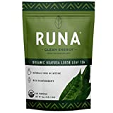RUNA Organic Guayusa Loose Leaf Tea, 1 Pound (16oz)   Packed with Natural Caffeine for Clean Energy   Antioxidant Rich Alternative to Yerba Mate, Coca Leaves, and Green Tea Matcha