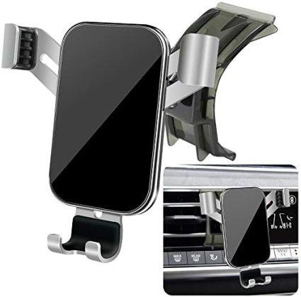 LUNQIN Car Phone Holder for 2019-2020 BMW X5 X7 SUV sDrive40i xDrive40i xDrive50i M50i 35d G05 G07 [Big Phones with Case Friendly] Auto Accessories Navigation Bracket Interior Decoration Phone Mount