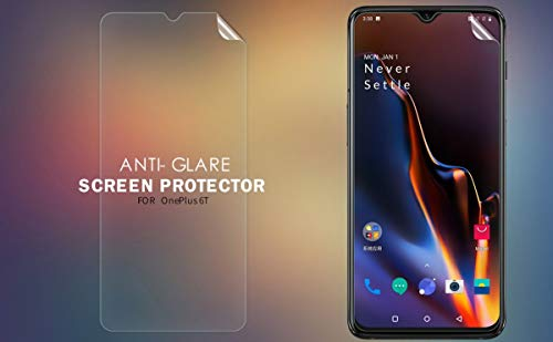 41czUf293iL - Nillkin Screen Guard for OnePlus 6T One Plus 6 T (1+6) T Whole Set Version Matte Anti Glare Front + Camera Sticker