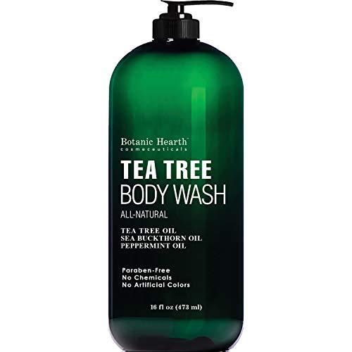 Antifungal Tea Tree Body Wash - Helps Nail Fungus,...