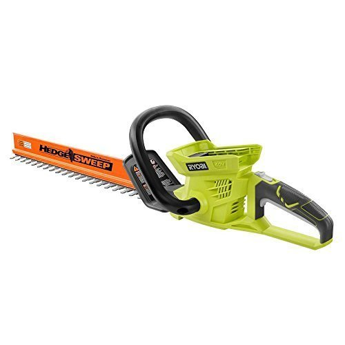 Ryobi 24 in. 40-Volt Lithium-ion Cordless Hedge Trimmer - Battery and Charger Not Included by Ryobi (Renewed)