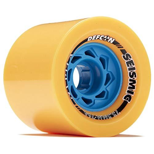 Seismic Alpha Longboard Wheels - 75.5mm - 77a Mango
