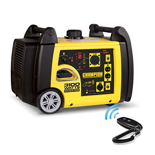 Champion 3100-Watt RV Ready Portable Inverter Generator with Wireless Remote Start