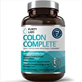 Gentle Colon Detox Cleanse HELPS Reduce Bloating Constipation and Weight Loss 25 Day Quick Cleanse