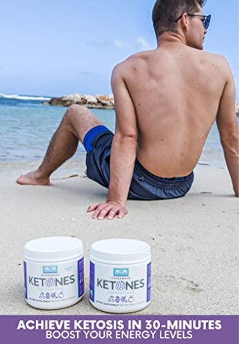 MCM Nutrition - Exogenous Ketones Supplement & BHB - Caffeine Free and Suppresses Appetite - Instant Keto Mix That Puts You into Ketosis Quick & Helps with The Keto Flu (Fruit Punch - 15 Servings) 4