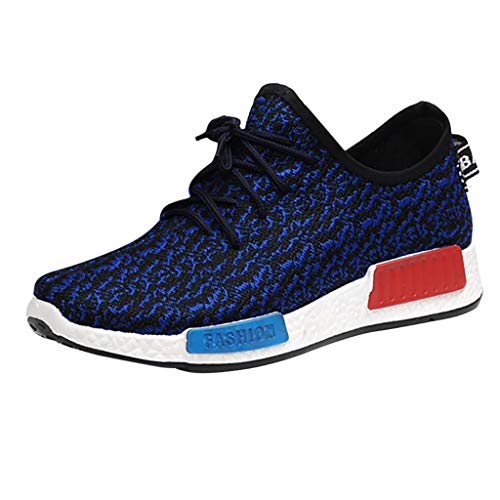 lkoezi Sneakers Shoes, Men Running Comfortable Casual Light Shoes Leisure Mesh Beathing Athletic Running Sport