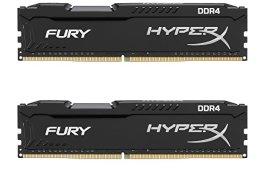 Kingston Technology HyperX FURY 2666MHz DDR4 Non-ECC CL15 DIMM 8GB DDR4 2666 MT/s (PC4-21300) HX426C15FBK2/8