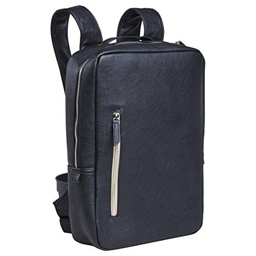 Laptop Backpack Briefcase Computer Bag - Slim Business Professional Bag fits 13 inch MacBook Pro / Air Dell Tablet - Black
