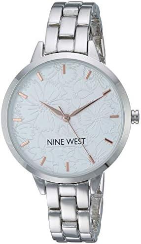 41dOc8e6%2BxL. AC  - Nine West - Reloj de pulsera para mujer #Amazon