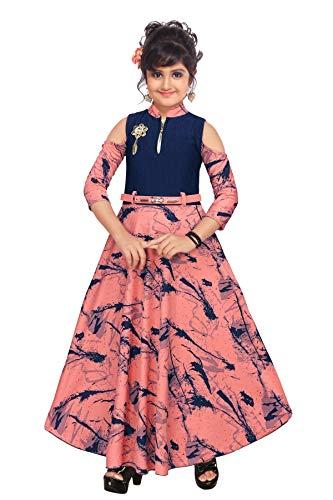 Girls Full Length Gown Dress