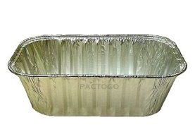Handi-Foil-1-lb-Aluminum-Foil-Mini-LoafBread-Baking-Pan-wClear-Low-Dome-Lid-pack-of-12