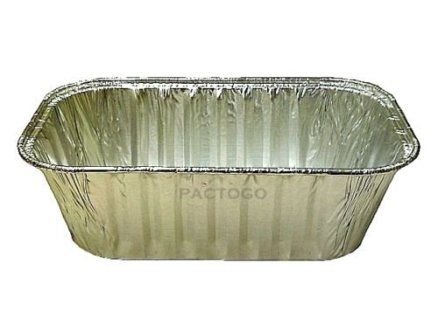 Handi-Foil-1-lb-Aluminum-Foil-Small-Mini-Loaf-Bread-Pan-wClear-Dome-Lid-Pack-of-6-Sets