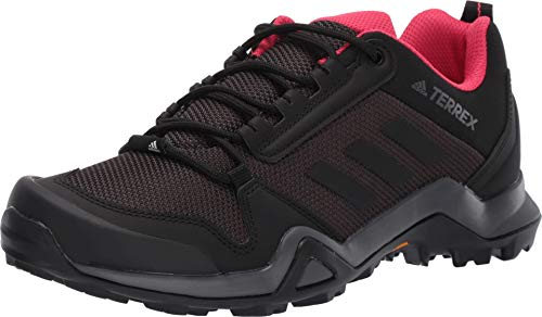 adidas outdoor Terrex Ax3 Womens Hiking Boot Carbon/Black/Active Pink, Size 7