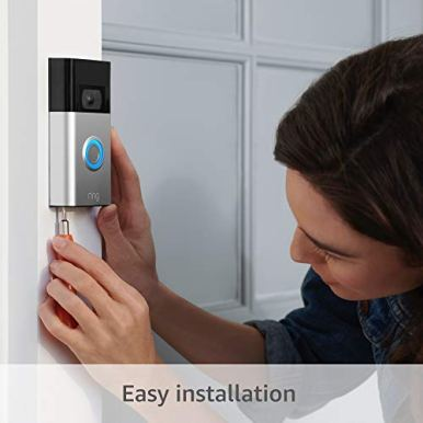 All-new-Ring-Video-Doorbell-2nd-Gen--1080p-HD-video-improved-motion-detection-easy-installation--Satin-Nickel