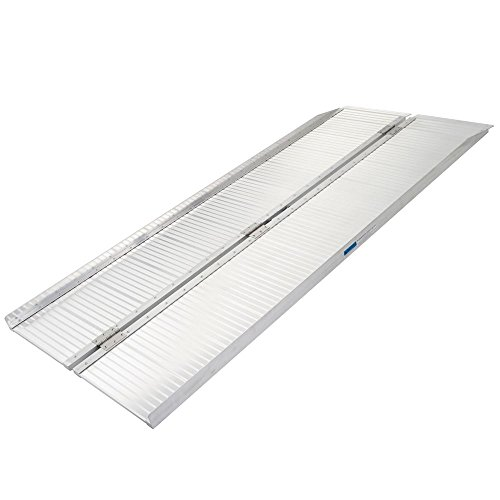 Silver Spring SCG-6 Folding Mobility and Utility Ramp-600lb. Capacity, 6' Long