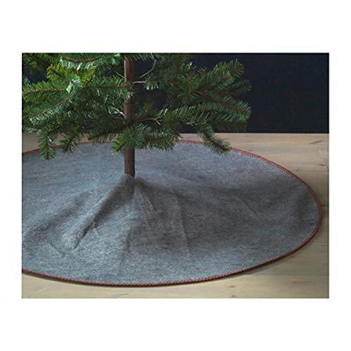 IKEA Vinter 2018 Christmas Tree Skirt Gray 704.070.58 Size 47 ¼'