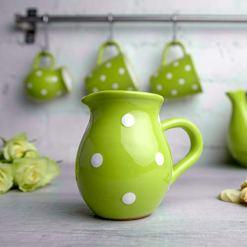 Lime Green Creamer Milk Jug