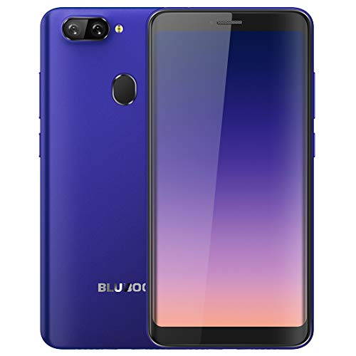BLUBOO D6 2GB+16GB Face ID & Fingerprint Identification 5.5 inch 2.5D Curved Android 8.1 MTK6580A Quad Core up to 1.3GHz GSM & WCDMA (Blue)
