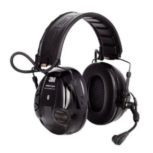 3M Peltor WS 100 Communications Headset MT16H21FWS5UM580, 20 dB Noise Reduction, Black