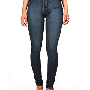Vibrant Women's Classic High Waist Denim Skinny Jeans 14 Fashion Online Shop Gifts for her Gifts for him womens full figure