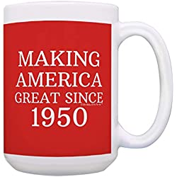 Making America Great Since 1950 Coffee Mug