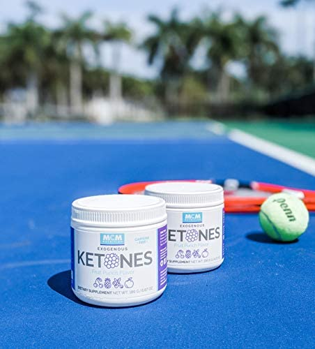 MCM Nutrition - Exogenous Ketones Supplement & BHB - Caffeine Free and Suppresses Appetite - Instant Keto Mix That Puts You into Ketosis Quick & Helps with The Keto Flu (Fruit Punch - 15 Servings) 10