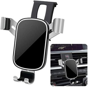 LUNQIN Car Phone Holder for 2013-2018 BMW 3 Series 3GT 320i 330i and 2014-2020 BMW 4 Series 430i 440i F30 F32 [Big Phones with Case Friendly] Auto Accessories Interior Decoration Mobile Phone Mount