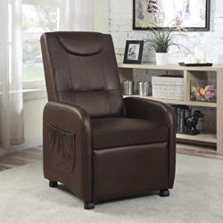 Hodedah Import Import Single Recliner Chair