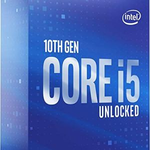 Intel Core i5-10600K Desktop Processor 6 Cores up to 4.8 GHz Unlocked  LGA1200 (Intel 400 Series Chipset) 125W