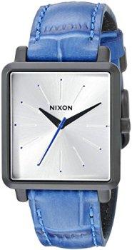 Nixon Women's A4722131 K Squared Analog Display Japanese Quartz Blue Watch
