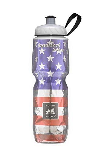 Polar Bottle Stars & Stripes Insulated Water Bottle, 24 oz, Stars & Stripes