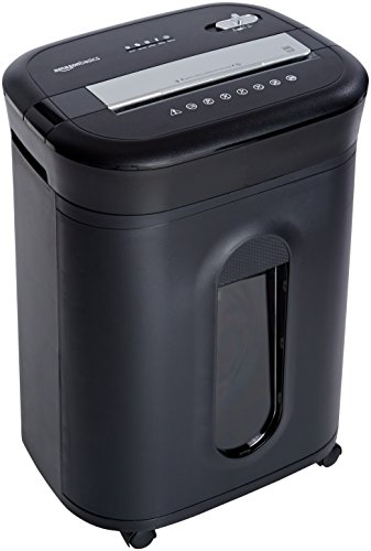 AmazonBasics 15-Sheet Cross-Cut Paper/ CD/ Credit Card Shredder