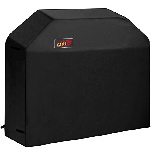 VicTsing 3-4 Burner Gas Grill Cover Heavy Duty Fits Most Brands of Grill - 58 inch 600D Waterproof BBQ Grill Cover + Storage Bag (UV & Dust & Water Resistant, Weather Resistant, Rip Resistant)