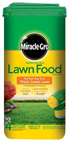 Miracle-Gro Water Soluble Lawn Food - 5 lbs (Not Sold in MD, NJ)