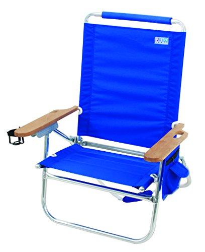 Rio Brands Beach Bum Beach Chair, Blue