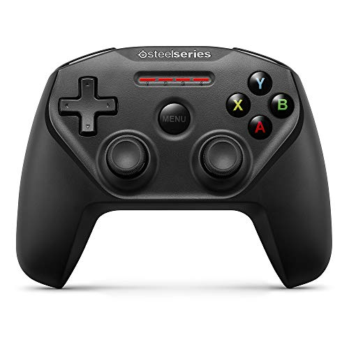 SteelSeries Nimbus Bluetooth Mobile Gaming Controller - IPhone, iPad, Apple TV - 40+ Hour Battery Life - Mfi Certified - Supports Fortnite Mobile