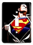 Classic Superman Hero Light Switch Cover