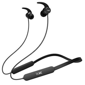 boAt Rockerz 255 Pro in-Ear Earphones with 10 Hours Battery, ASAP Charge, IPX5, Bluetooth V5.0 and Voice Assitant(Active…