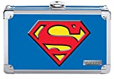 Vaultz Superman Pencil Box, 8.5 x 2.5 x 5.5 Inches, Blue (VZ00879)