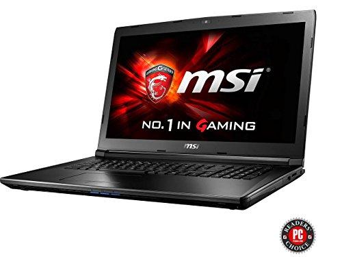 MSI GL72 7QF-1057 17.3' Intel Core i7 7th Gen 7700HQ (2.80 GHz) NVIDIA GeForce GTX 960M 8 GB Memory 1 TB HDD Windows 10 Home 64-Bit Gaming Laptops