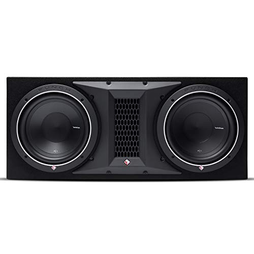 Rockford Fosgate Punch P1-2X10 Dual P1 10' Loaded Subwoofer Enclosure Ported