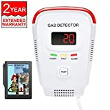 Natural Gas Detector/Propane / Methane,Leak Sensor Detector with Voice Warning and Digital Display
