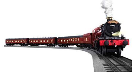 Lionel-Hogwarts-Express-Electric-O-Gauge-Model-Train-Set-w-Remote-and-Bluetooth-Capability
