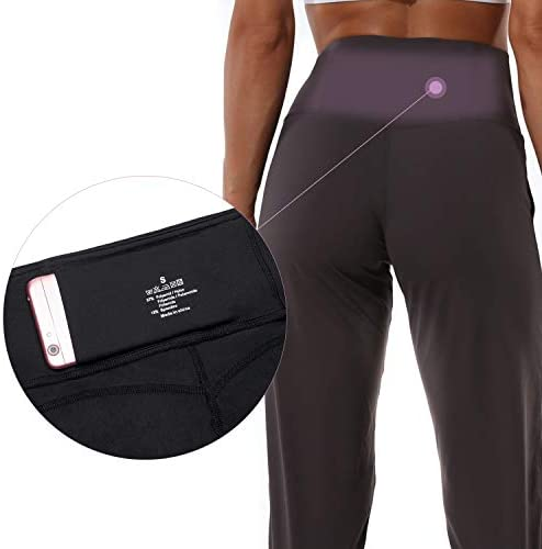 Mesily Women's Athletic Joggers High Waist Sweatpant Yoga Pant with Pockets for Workout Running 3