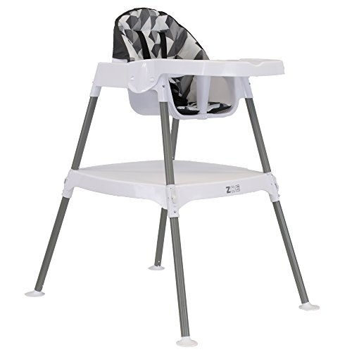 Enjoyable Zoe High Chair 4 In 1 High Chair Grey Blocks Creativecarmelina Interior Chair Design Creativecarmelinacom