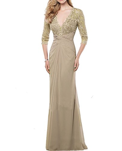 Judy Ellen Women Half Sleeve Mermaid Party Prom Dresses Evening ...